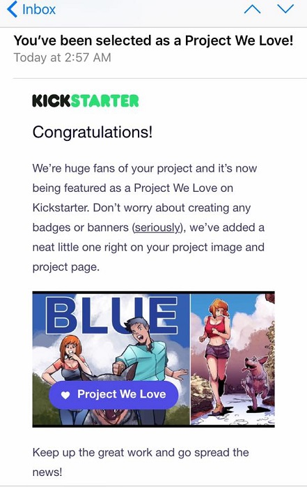 Blue, Kickstarter, Graphic Novel, Cheun, Australian Cattle Dog, Comic, Australia, Staff Pick, Project We Love